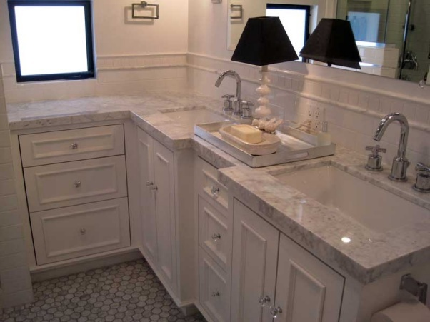 41 best images about master on pinterest double sinks for Master bathroom countertops