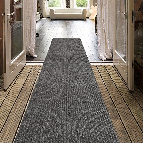 iCustomRug Indoor/Outdoor Utility Ribbed Carpet Runner And Area Rugs In Grey, Many Sizes Available:   Choose your color and size of our Indoor/Outdoor utility carpet runner from 3ft, 4ft and 6ft width by your custom length. This Utility runner is great for hallway, entrance way, vestibule, deck, outdoor stairs, boats and more.