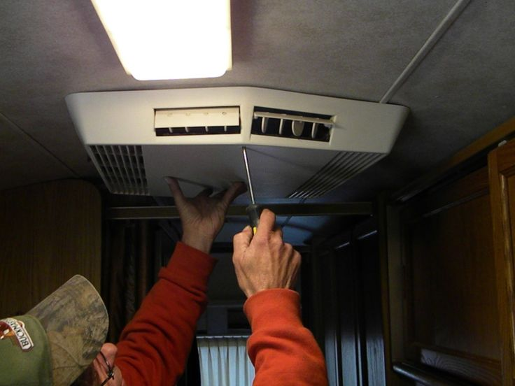 The Best And Easiest To Install RV Camper Trailer Rooftop AC Air Conditioner.  Coleman ...