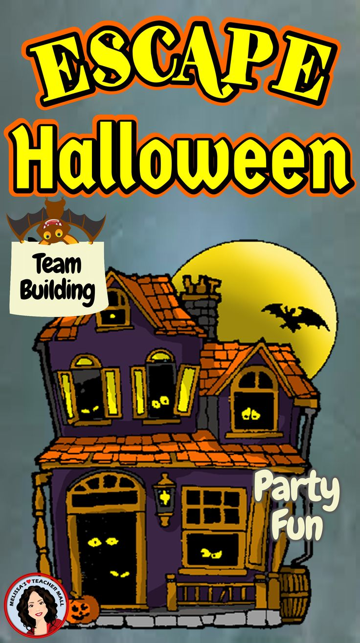Escape Room Halloween Activity Halloween Escape Room Game