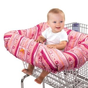 Cart/Highchair cover--have this and get SO many comments when we go out.  It's the most practical baby item out there IMO.