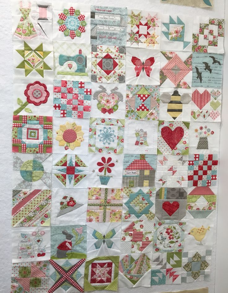 48 blocks of the Splendid Sampler quilt