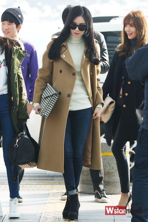 snsd seohyun airport fashion 141121 2014 snsd airport