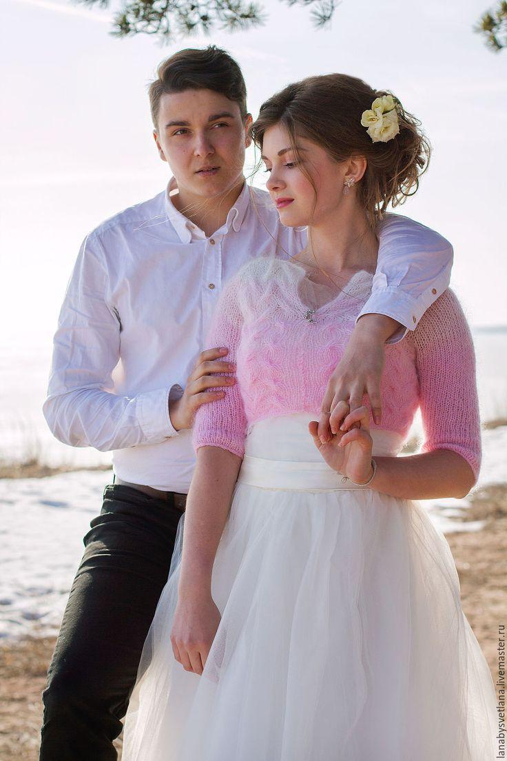 Купить Болеро для невесты - пончо, болеро, накидка, шаль, невеста, невесте, зимняя свадьба