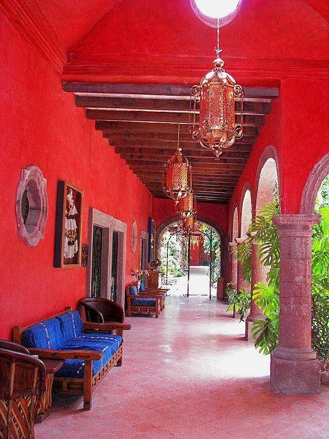 San Miguel Allende Mexico , love the colors [ MexicanConnexionForTile.com ] #interior #Talavera #handmade