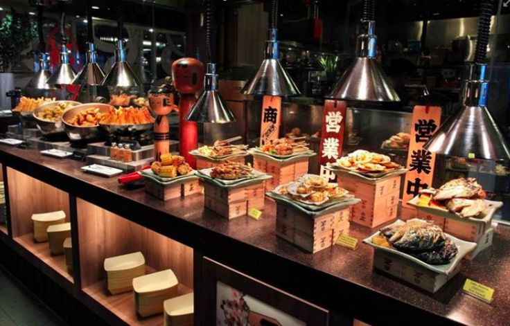 25 best ideas about japanese buffet on pinterest sushi for Food bar near me