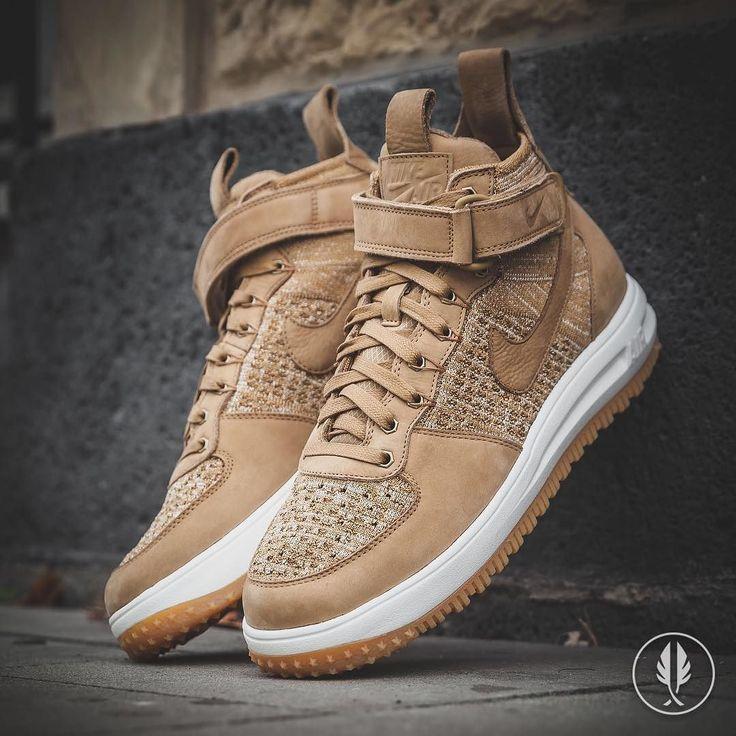 """Nike Lunar Force 1 Flyknit Workboot"" Golden Beige | US 7.0 - 13.0 | 199.95 | Now Live @afewstore | @nike @nikesportswear @flyknitclub #Nike #LunarForce1 #Flyknit #Workboot #teamafew #klekttakeover #womft #sneakerheads #sadp #sneakersaddict #hypebeast #highsnobiety #modernnotoriety #basementapproved #sneakernews #snobshots #hskicks #hypefeet #kicksonfire #complexsneakers #sneakerfreaker #sneakerfreakergermany #praisemag #thedropdate #everysize"