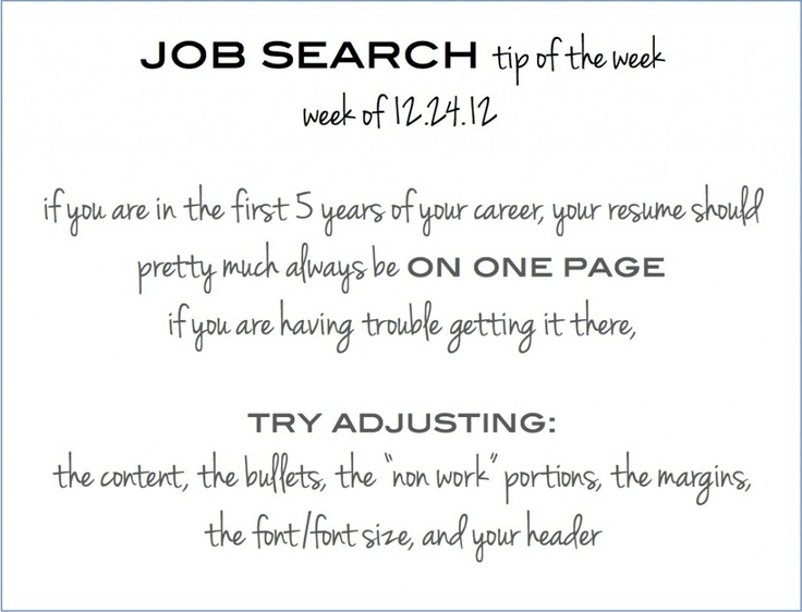 38 best Happy Job Hunting! images on Pinterest Book publishing - resume font size