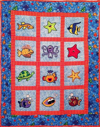 31 best Under the sea quilts images on Pinterest   Drawings ... : under the sea quilt - Adamdwight.com