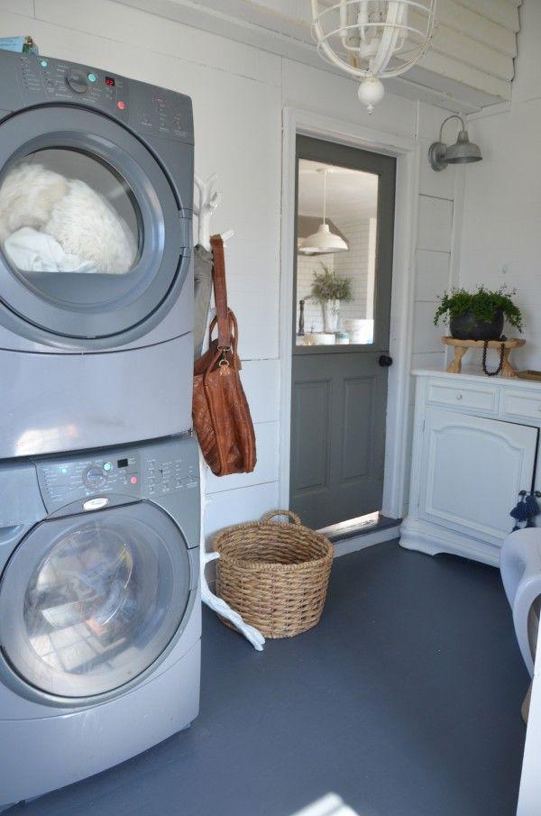 Lovely laundry room from The Nester 81