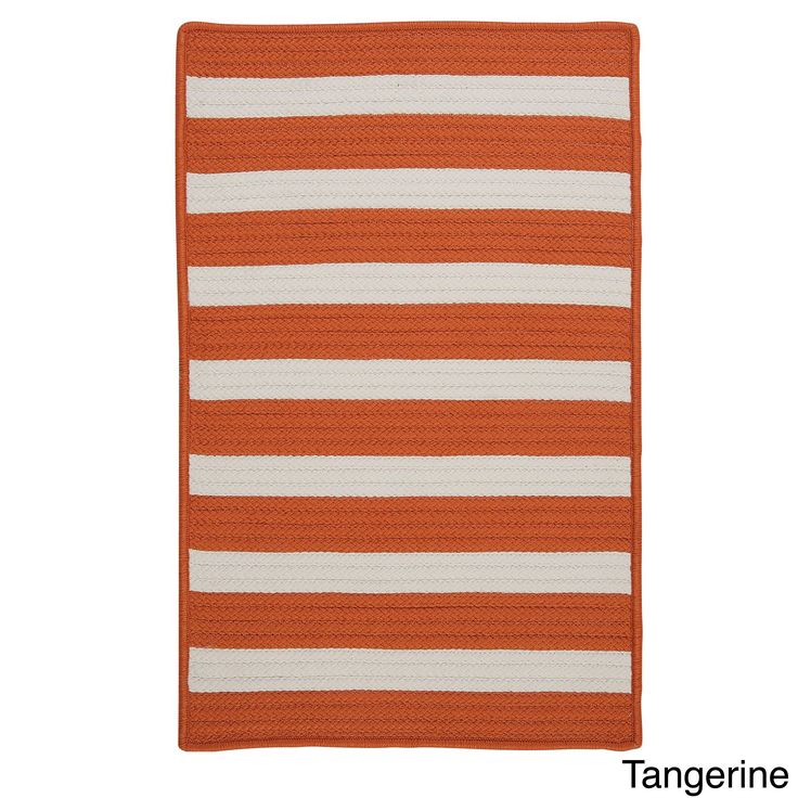 Striped Out Indoor/ Outdoor Area Rug (4' x 6') - Overstock™ Shopping - Great Deals on Colonial Mills 3x5 - 4x6 Rugs