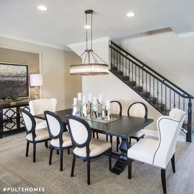 75 best inviting dining rooms images on pinterest | pulte homes