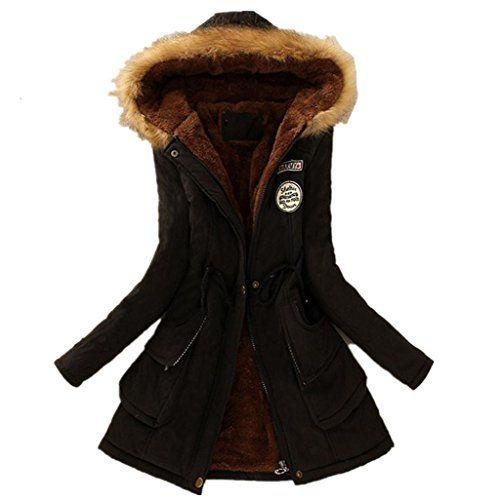 Damen Bekleidung Vovotrade Womens Warm Long Coat