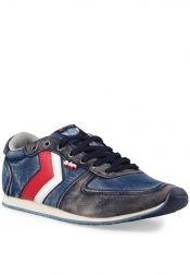 Lee Cooper Men Casual on Shoes Jeans Blue