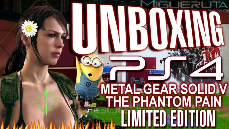 Unboxing PS4 Limited Edition Metal Gear Solid V The Phantom Pain Styled ...https://youtu.be/tj82VWcjwiQ
