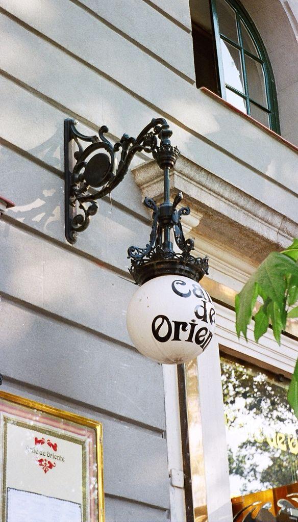 Café de Oriente. Madrid