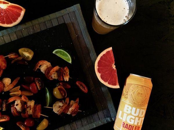 The Bud Light Radler Grapefruit, perfect summer beer!