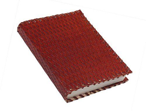 Cadeaux de noel, cuir rouge fait main Journal blanc Journal personnel composition carnet de voyage carnet de voyage carnet de croquis 15 x…