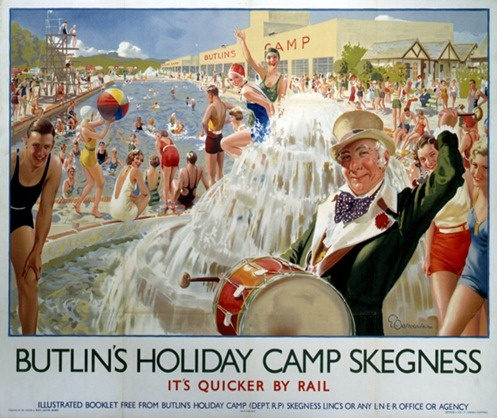 British Seaside Holidays in the 1950s Could be table names Skegness, mablethorpe etc.....