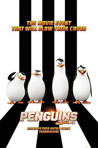 Penguins Of Madagascar - Movie Poster / Print (Regular St