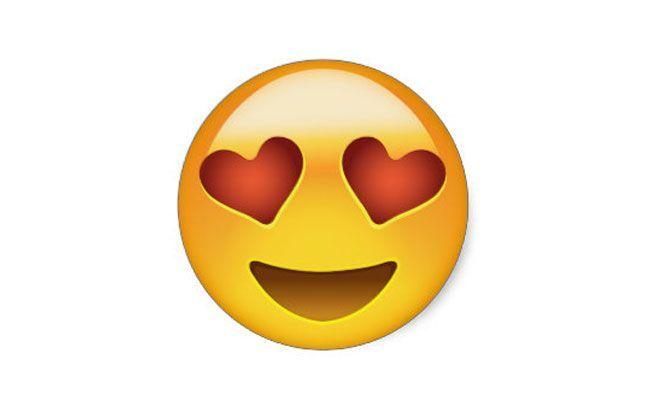 Whatsapp smileys bedeutung herz augen