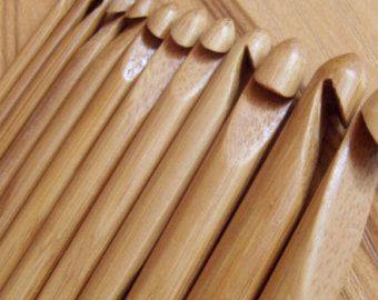 36PCS Carbonized Bamboo Knitting Needles by indianbanglesseller