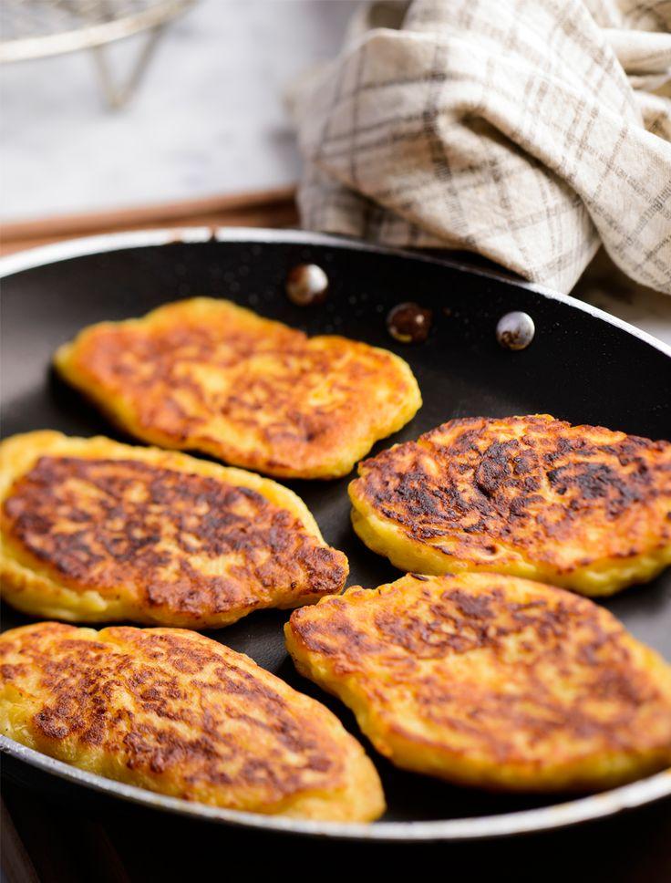 Patatesli Pancake | Beyaz Fırın Blog