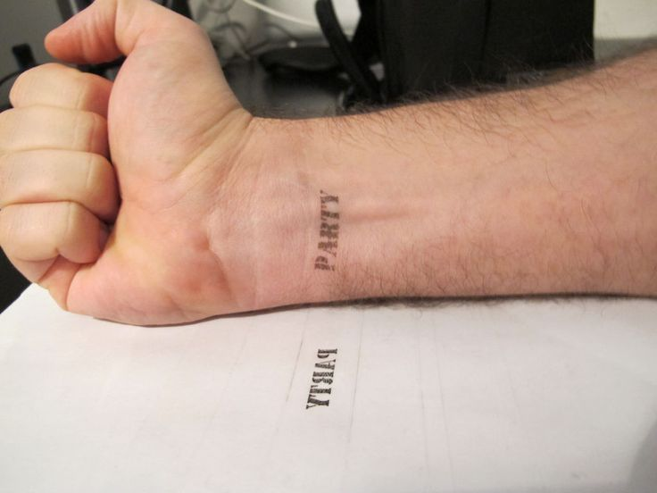 print anything on your skin tattoo party stamp