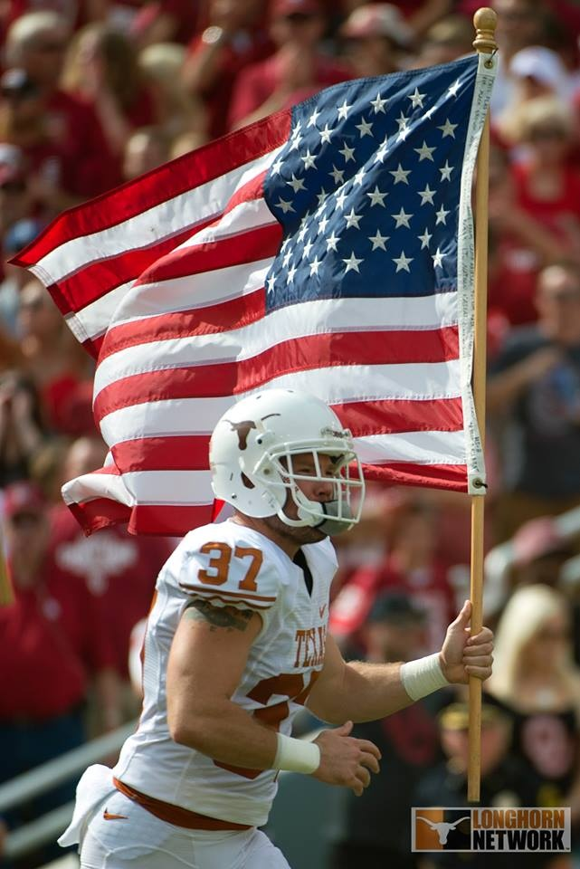 Longhorn Network Longhorn proud. American strong.   SHARE this to show your pride on Flag Day.