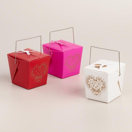 Our exclusive gift boxes are perfect containers for small gifts and wrapped-treats on Valentine's Day and other special occasions. >> #WorldMarket Valentine's Day!