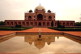 Humayun's Tomb in Delhi #India #July  Such a beautiful place to go to !!!