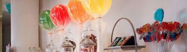 Cómo hacer chupetas (piruletas) y caramelos gigantes para decorar una fiesta