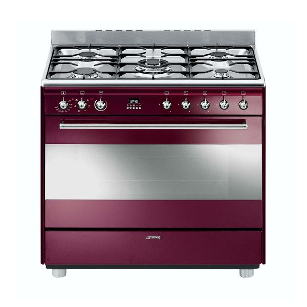 SMEG STOVE RED WINE MODEL - SSA91MRW1 | Your number one appliance store