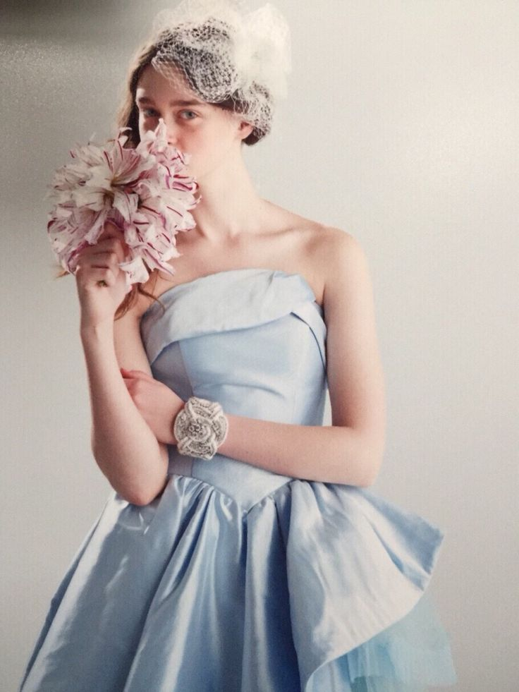 blue dress 04-5995