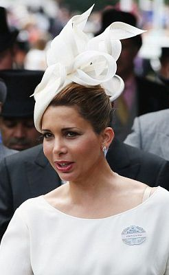 Princess Haya, June 20, 2014 in Philip Treacy | Royal Hats