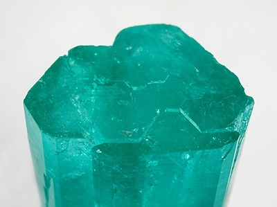 Emerald - Huge 2-inch, Complete Crystal - Muzo Mine, Boyaca Dept., Colombia: Gemstone, Emeralds Beryl, Crystals Stones Minerals Met, Complete Crystals, Beautiful Crystals, Natural Crystals, Minerals Rocks, Tierra Colombiana