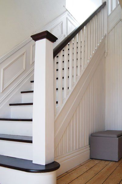 painted edwardian staircase - Google Search