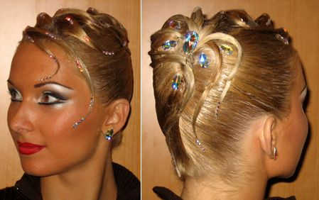 French Twist style