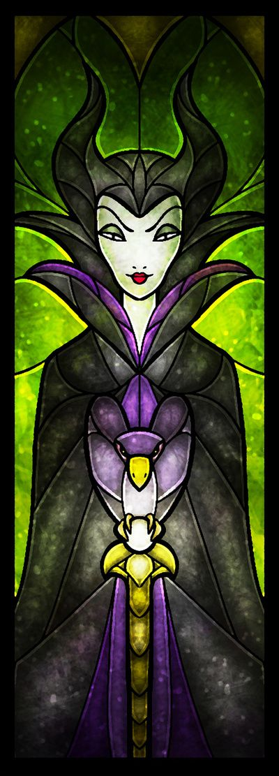 This girl (Mandie Manzano) does some amazing stained-glass style digital art. Definitely worth checking out her whole site.