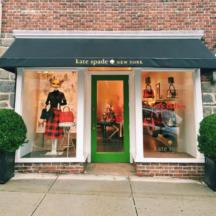 Kate Spade store front love.
