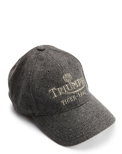 triumph mcqueen baseball cap wool it store stag tiger