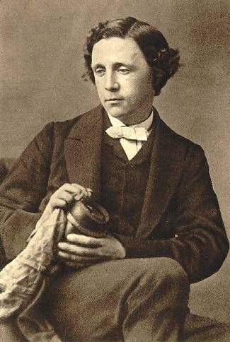 Charles Ludwidge Dodgson (Lewis Carroll) 31 years old, photographed by O.G. Rejlander at 28 March 1863