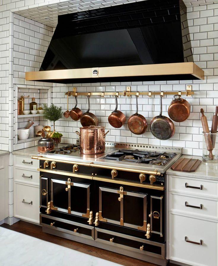 French Range, French-inspired kitchen