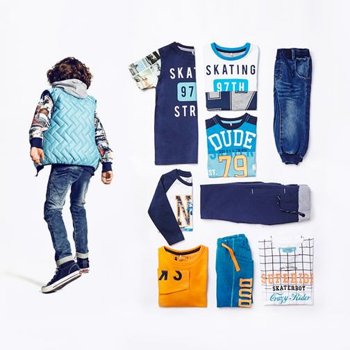 Cool skaterstyle - kids fashion