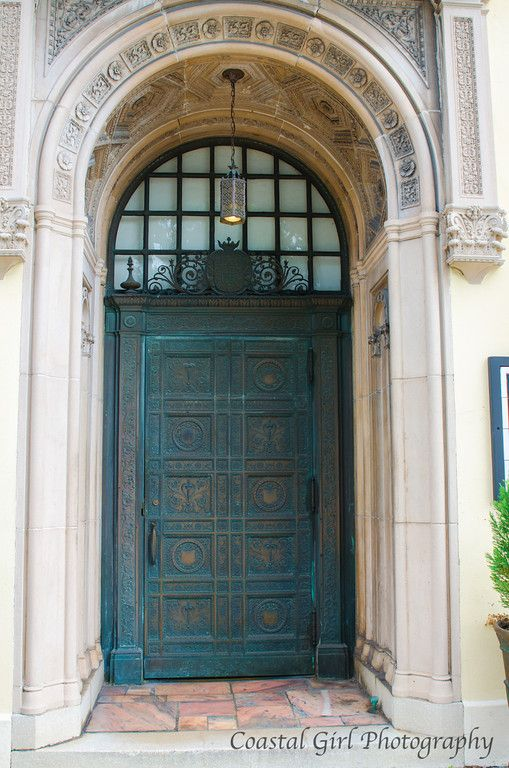 One of the many doors I love in St. Augustine on Cathedral Place