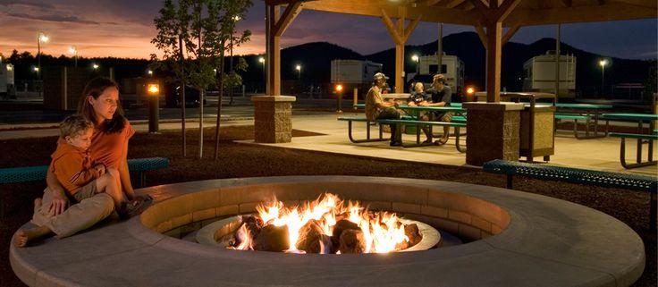 Grand Canyon Railway RV Park   Arizona RV Parks   Williams - Sedona - Flagstaff - Grand Canyon RV Parks