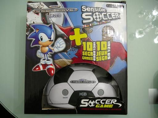 Console Sega Megadrive d'Emulation SM-2010 Sensible Soccer