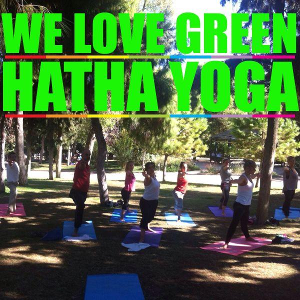 "Green Hatha YogaΗ ""Πράσινη Χάθα Γιόγκα"" μας φέρνει πιο κοντά στη ""φύση"" μας... στη Φύση! Για αυτό το μάθημα μας γίνεται κάθε Σάββατο πρωί δίπλα στο Χώρο μας Azima New Age Place"