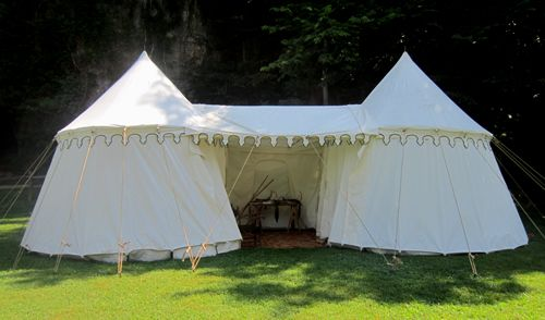 Medieval Camping - The Henry VIII Pavilion