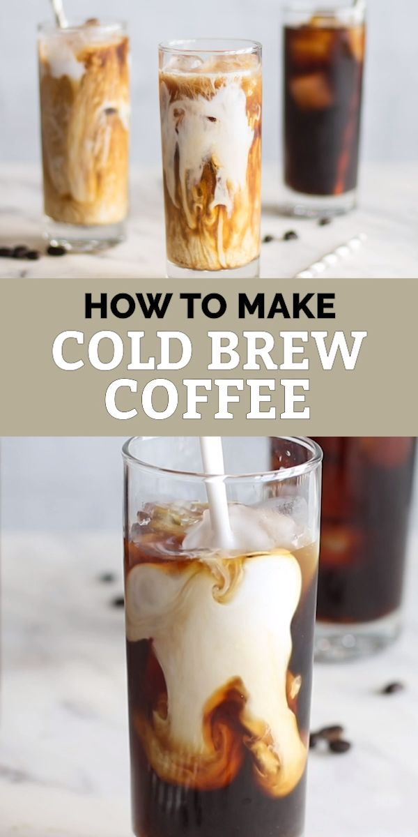 How To Make Cold Brew Coffee Sunkissed Kitchen Cold Brew Coffee Recipe Cold Coffee Recipes Coffee Drink Recipes